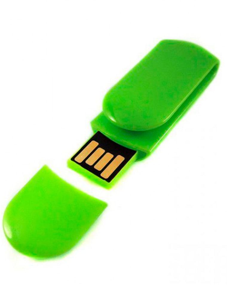 F11---зеленая-флешка флеш империя флешки оптом пластиковая (3)-min