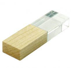 F30 деревянные флешки кристаллы заказать на подарки коллегам Москва