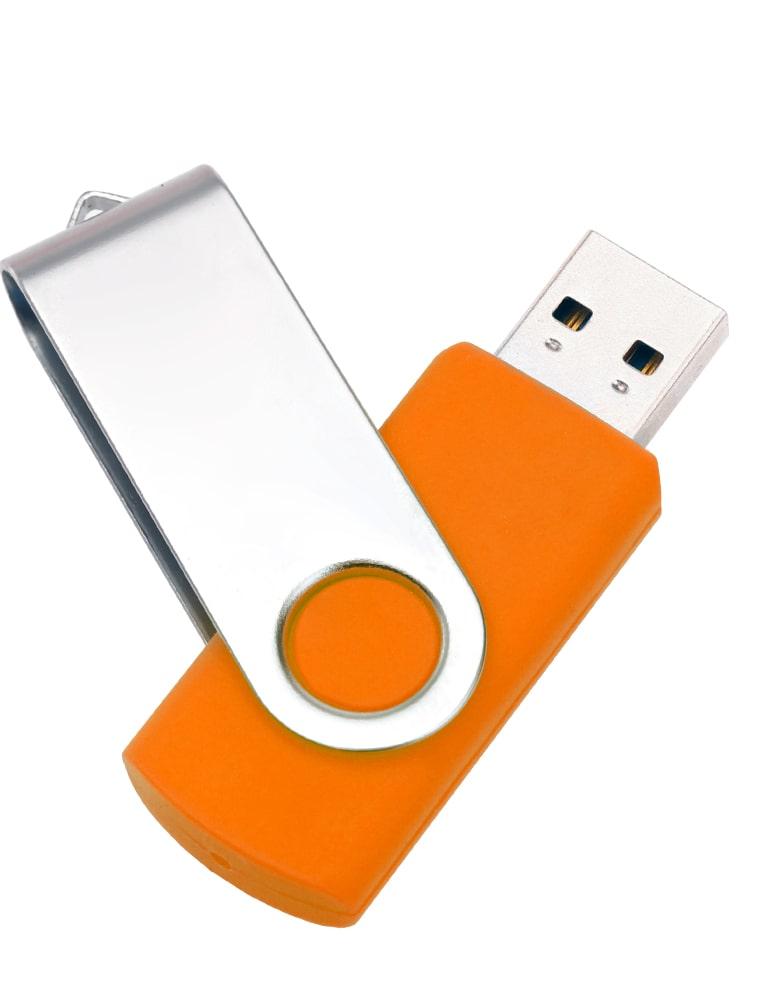 оранжевая-F01-twist-флешка-поворотка-флеш-империя-оптом-min