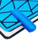 пластиковая флешка зажим флеш империя синяя оптом (2)