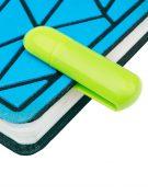 пластиковая флешка зажим флеш империя зеленая оптом (2)