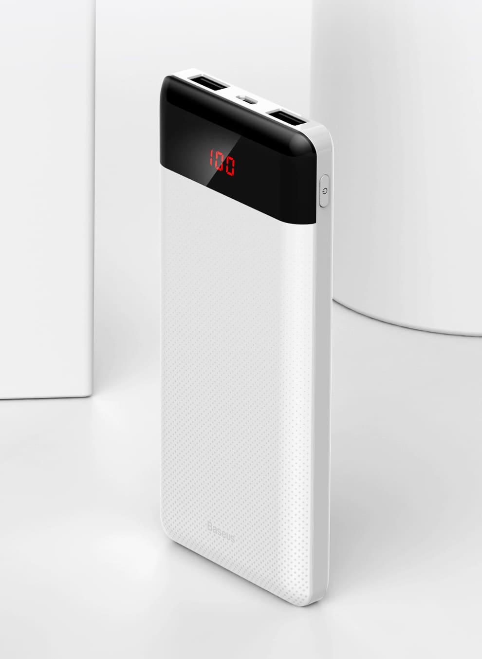 Тонкий внешний аккумулятор 10000 mAh заказать в екб недорого