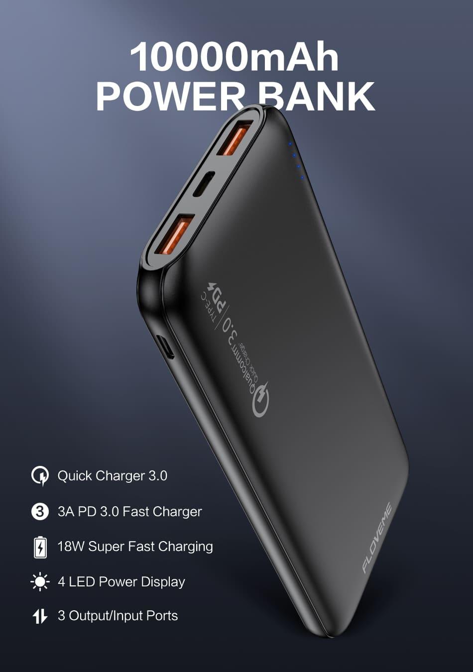 ZPB45 мощный внешний аккумулятор купить по низкой цене в москве