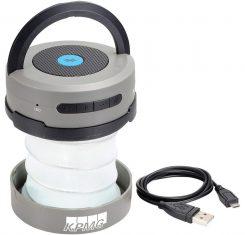 Портативный динамик со встроенным светильником