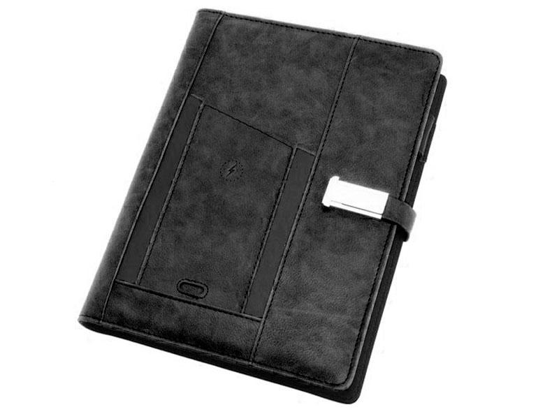 Смарт-ежедневник черный сувенирная продукция с логотипом компании Москва