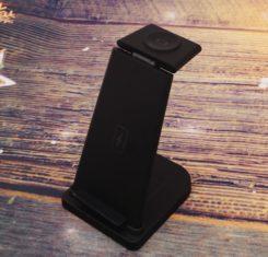 Зарядное устройство 3 в 1 Флеш империя флешки оптом купить логотип под заказ