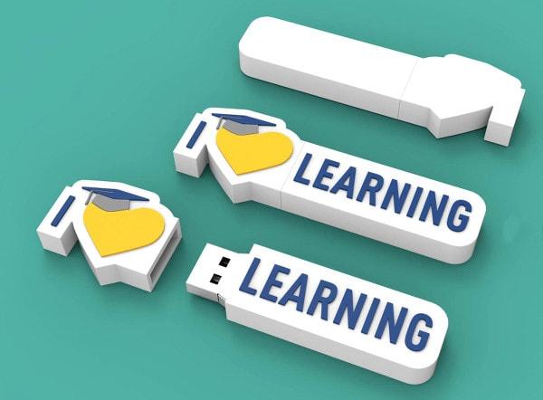 Флешка сувенирная продукция с логотипом компании оптом