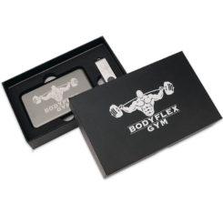 подарочный комплект с логотипом компании, набор, флеш империя внешний аккумулятор и флешка купить оптом