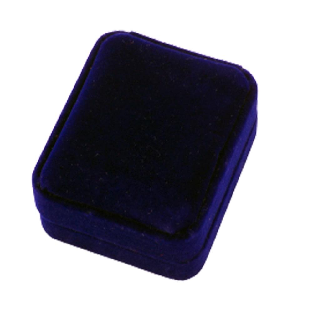 Упаковка для флеш-накопителей бархатная синяя заказать оптом Екатеринбург флеш империя